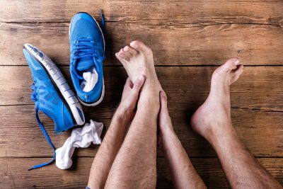 Ankle injuries, sports physio belfast